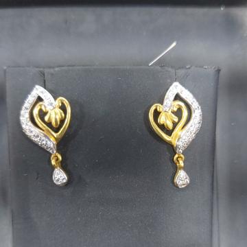 916 CZ Earring by Parshwa Jewellers