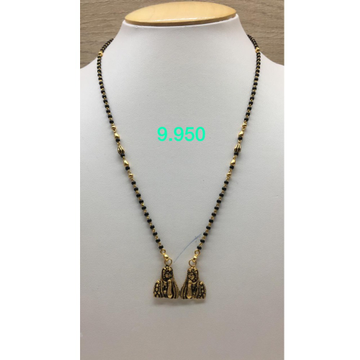 916 Gold Antique Stylish Mangalsutra IO-M17