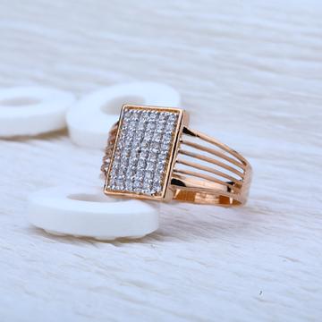 Rose Gold Mens Ring-RMR22