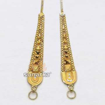 Gold Earchain SK - K035