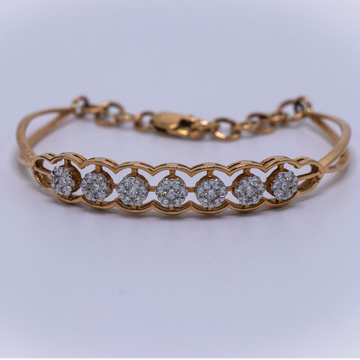 18k  gold diamond bracelet agj-lb-49