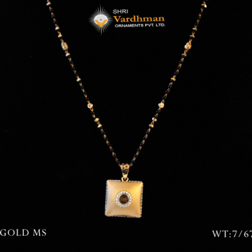 18ct exclusive mangalsutra by