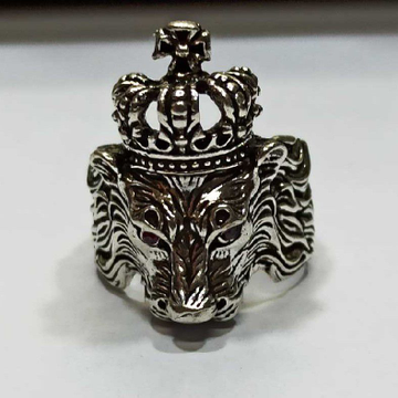 Sher Ring by Shalibadhra Silver Jewellery