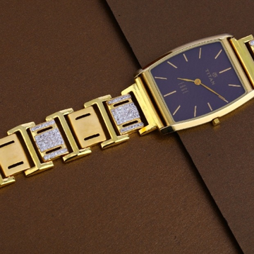 22 carat gold mens designer hallmark watch rh-ga481