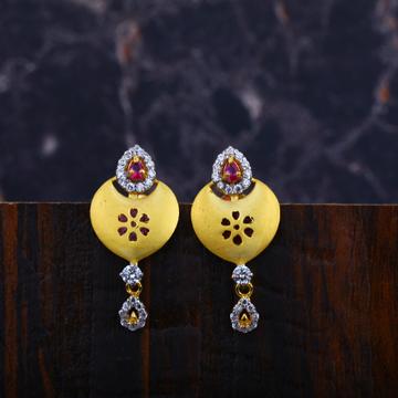 Ladies Gold Earrings-LFE81