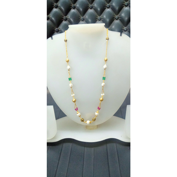 22 Ct Fancy Color Mala by Celebrity Jewels