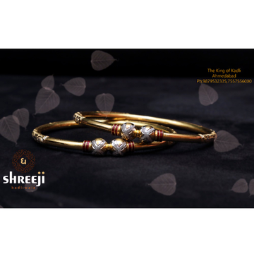 916 Gold Delicate Modhiya Kadli Bangle
