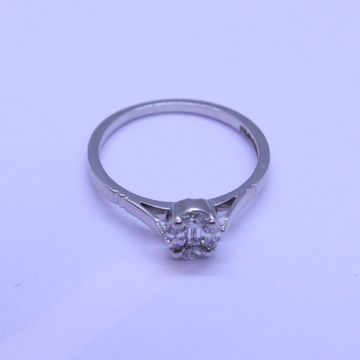 18K gold diamond ring agj-lr-326