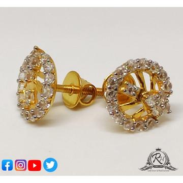 22 carat gold antiq daimond earrings RH-ER558