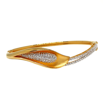 22K Gold Designer CZ Diamond Bracelet MGA - BRG0031