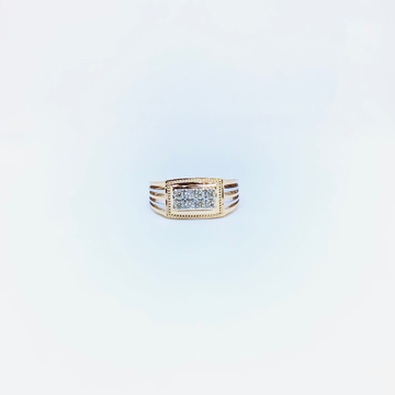 BRANDED REAL DIAMOND FANCY RING by