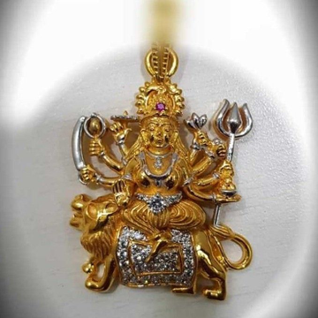 Ma ambe god gold pendant