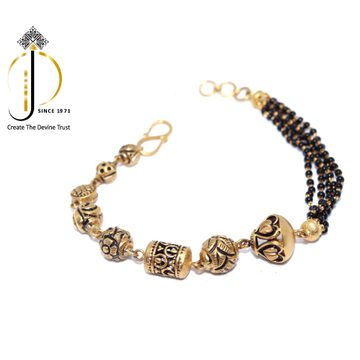 22KT / 916 Gold fancy Mangalsutra Bracelets For wo... by