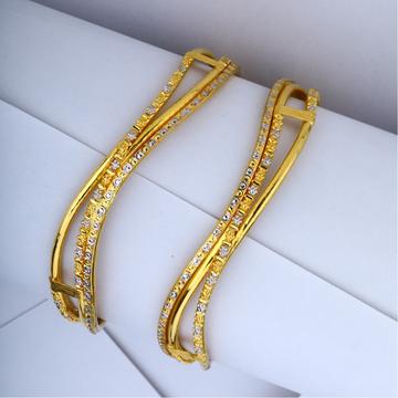 22KT Gold Designer Copper Kadli