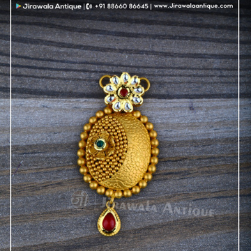 Antique Jadtar 22ct 916 Gold Mangalsutra Pendant