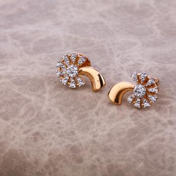 750 Regular Rose Gold Earring RE50