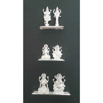 Small Size Dabal(Joint) Plate Casting Murti(Bhagvan,God)