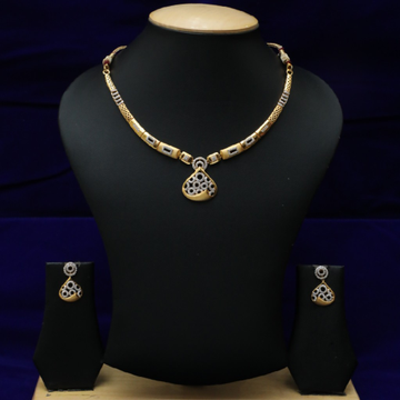 916 Diamond Necklace Set CZS0020
