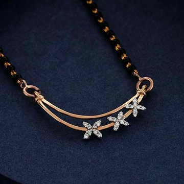 18 KT Rose gold fancy casual ware mangalsutra for... by