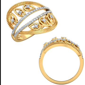 22KT Yellow Gold Cerelia Ring For Women