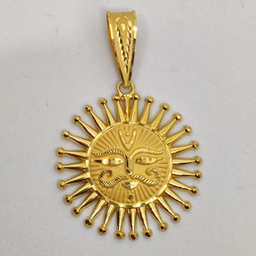 916 Gold Fancy Gent's Surrya Dev Pandal