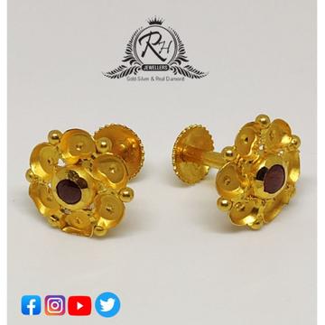 22 carat gold fancy ladies earrings RH-ER247