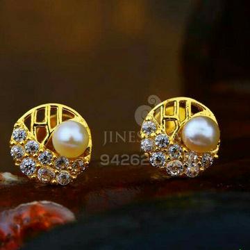 18kt Rose Gold Fancy Cz Ladies Tops ATG -0379