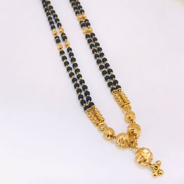 22 ct gold mangalsutra by