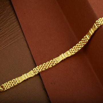 Mens 916 Fancy Gold Casting Daily Wear Cartier Bracelet-MCRB16