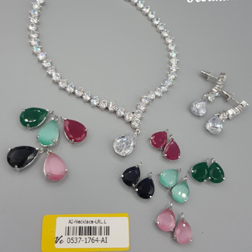 diamond  changeable necklace#988