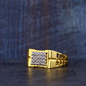 Mens Gold Fancy Ring-MR318