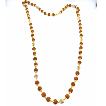 916 Long Rudraksh mala with om para