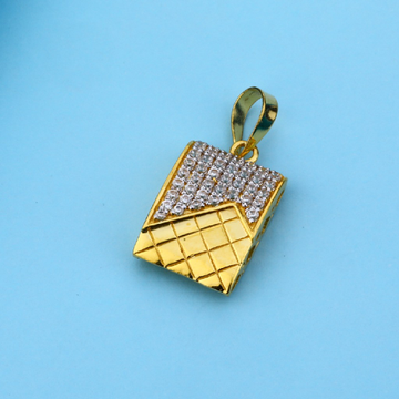 916 Gold Classic Ladies Pendant LFP25
