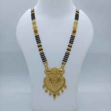 916 gold kolkati fancy mangalsutra tj-033