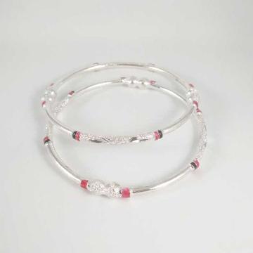 Silver casting  bangles. nj-b01021