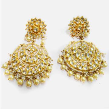 916 Gold Designer Bridal Earring RHJ-4463