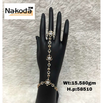 18K Exclusive Ladies Rose Gold Hathpan