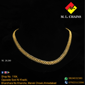 916 Gold Chain For Men ML-C17