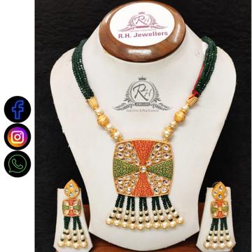22 carat gold manufacturer of classical necklace set RH-LS515