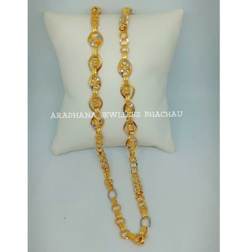 916 Gold Indian Hollow Gents Chain