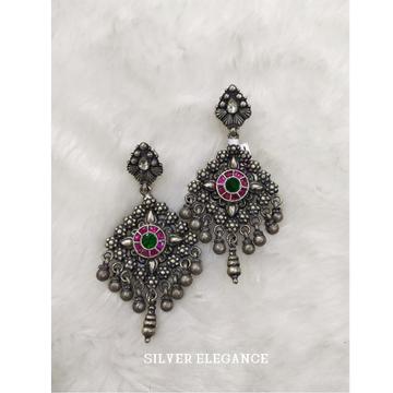 Silver classic earring se-e012