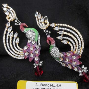 Peacock earrings#351
