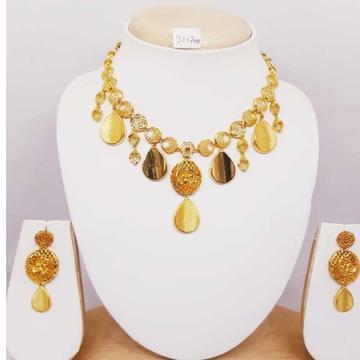 22kt gold turkish necklace set bj-n04 by