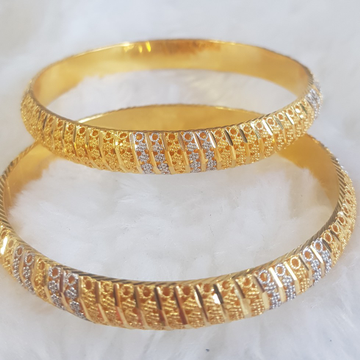 22KT Gold culkuti Bangles