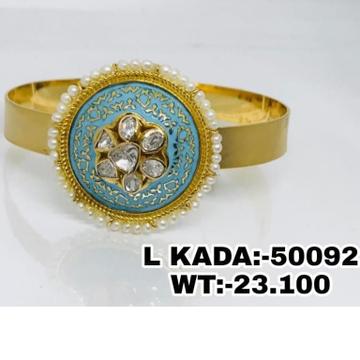 916 Gold Fancy Ladies Kada Brasclet RH-LB28