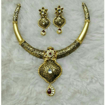 22K/916 Gold Antique Necklace Set