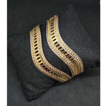 1 gram designer curve bangle