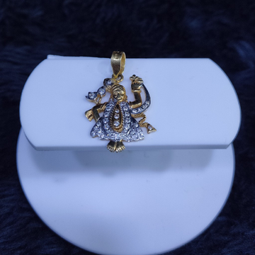 22KT/916 Yellow Gold Allah Pendent  For Unisex
