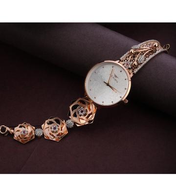 750 Rose Gold Women's  exclusive Hallmark Watch RLW288