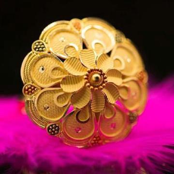 916 Gold umbrella Ladies Ring RH-LR104